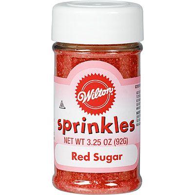 Red Sugar Sprinkles 3.25oz