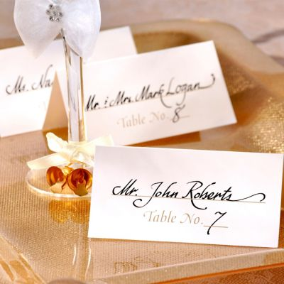 Gold Table Number Place Cards 50ct