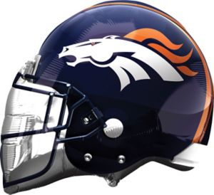 Denver Broncos Balloon - Helmet