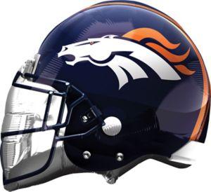 Denver Broncos Balloon - Helmet