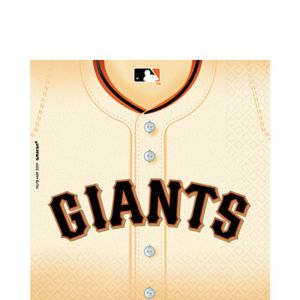 San Francisco Giants Lunch Napkins 36ct