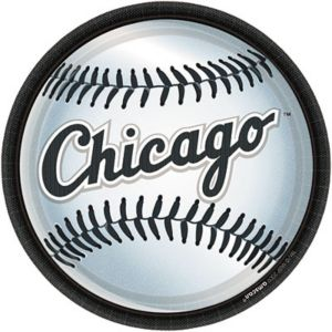 Chicago White Sox Lunch Plates 18ct