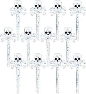 Skull & Crossbones Party Picks 12ct