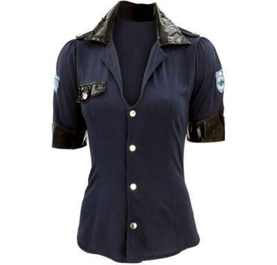 Adult Sexy Police Shirt