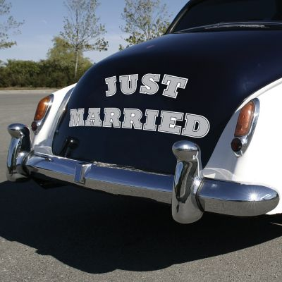 Just Married Car Magnets