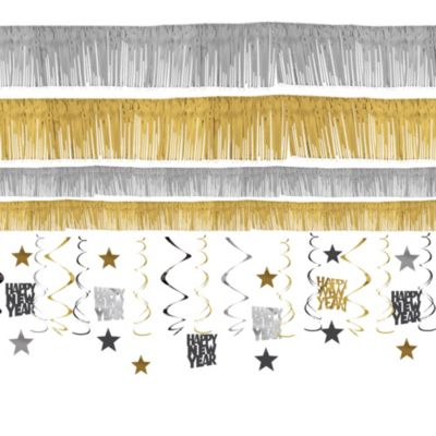 New Years Room Decorating Kit 21pc
