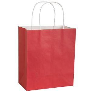 Large Red Kraft Gift Bag