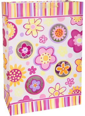Fun Flowers Gift Bag