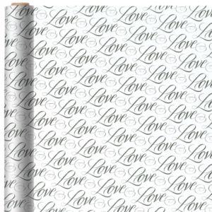 Jumbo Love Gift Wrap