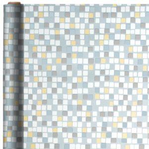 Jumbo Silver Mosaic Gift Wrap