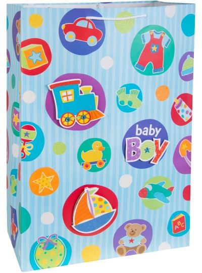 3D Baby Boy Gift Bag