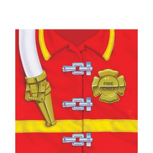 Firefighter Lunch Napkins 16ct