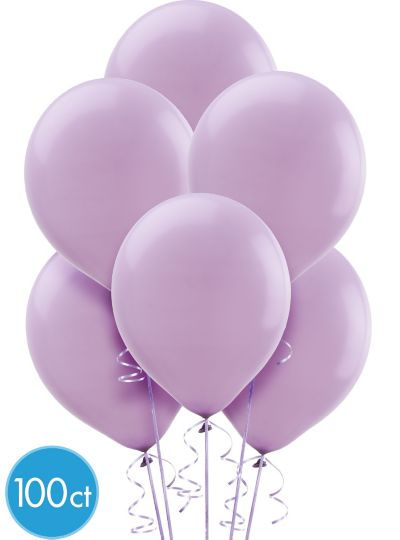 Lavender Balloons 100ct