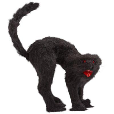 Light-Up Hissing Black Cat