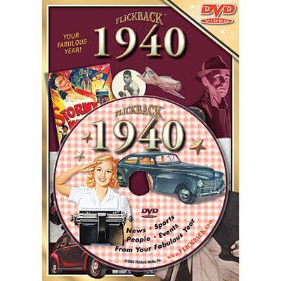 Year 1940 DVD