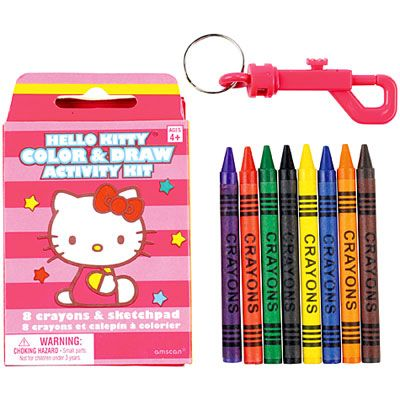 Hello Kitty Coloring & Drawing Kit