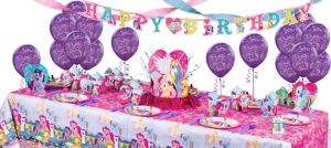 My Little Pony Super Party Kit for 8 Guests