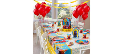Sesame Street Party Supplies Super Party Kit