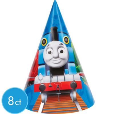 Thomas the Tank Engine Party Hats 8ct