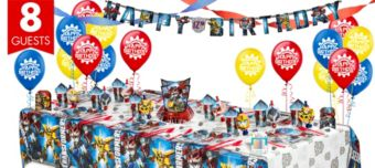 Transformers Super Party Kit for 8 Guests