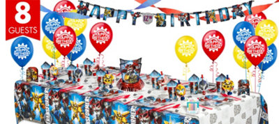Transformers Party Supplies Super Party Kit