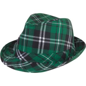 St. Patrick's Day Plaid Fedora
