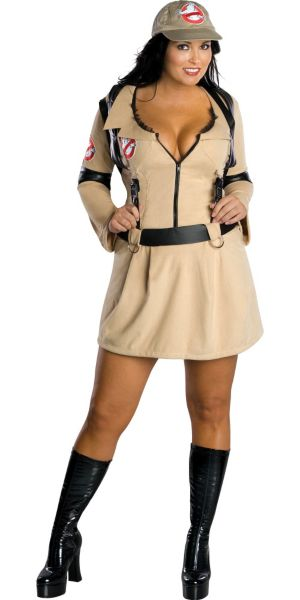 Adult Sexy Ghostbuster Costume Plus Size