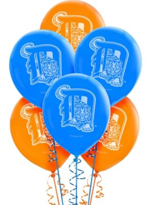 Detroit Tigers Latex Balloons 12in 6ct