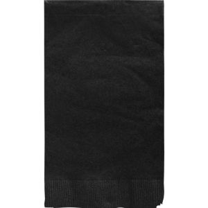 Black Guest Towels 16ct