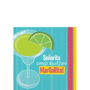Senorita Beverage Napkins 16ct