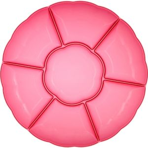 Bright Pink Chip and Dip Tray