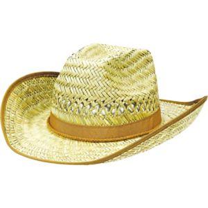 Beach Bum Straw Cowboy Hat
