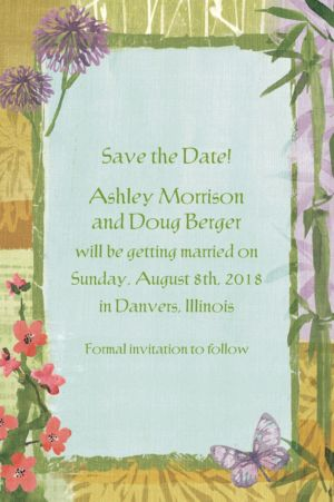 Custom Serenity Invitations