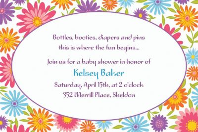 Custom Spring Day Invitations