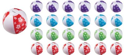 Inflatable Beach Balls 24ct