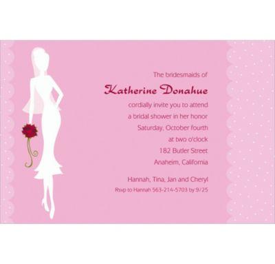 Sassy Bride Custom Bridal Shower Invitation