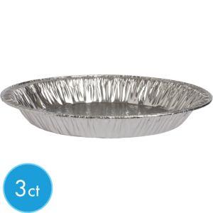 Aluminum Pie Pans 3ct