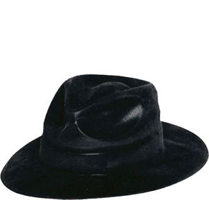 Black Gangster Fedora