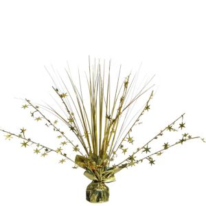 Gold Spray Centerpiece