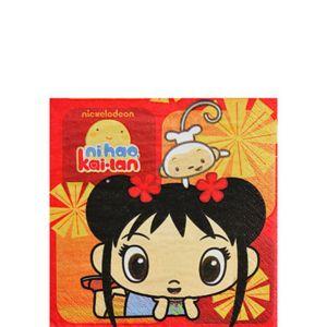 Ni Hao Kai Lan Beverage Napkins 16ct