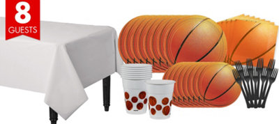 Basketball Party Supplies Basic Party Kit