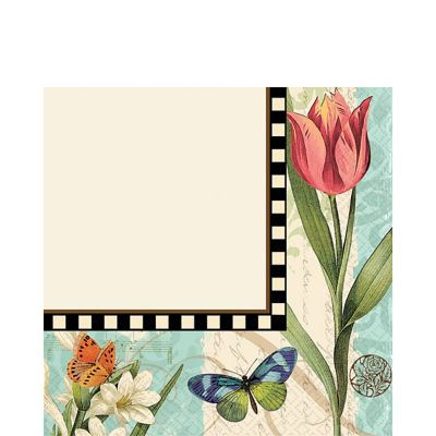 Garden Melody Lunch Napkin 16ct