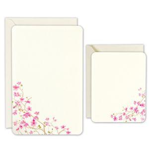 Cherry Blossom Printable Wedding Invitations Kit 50ct