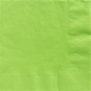 Big Party Pack Kiwi Green Dinner Napkins 50ct