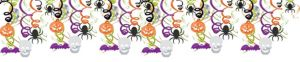 Halloween Hanging Swirl Decorations 30ct