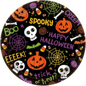 Spooktacular Lunch Plates 60ct