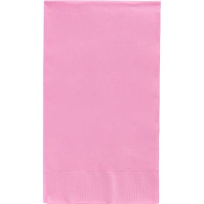 Pink Guest Towels 40ct