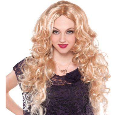 Blonde Fashionista Wig Party City