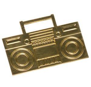 Old School Boom Box Ring