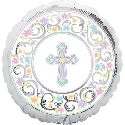 Christening Balloon - Prismatic Joyous Celebration
